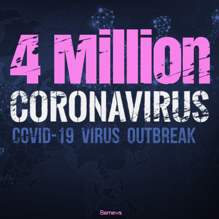 4 Million Coronavirus Covid-19 Outbreak