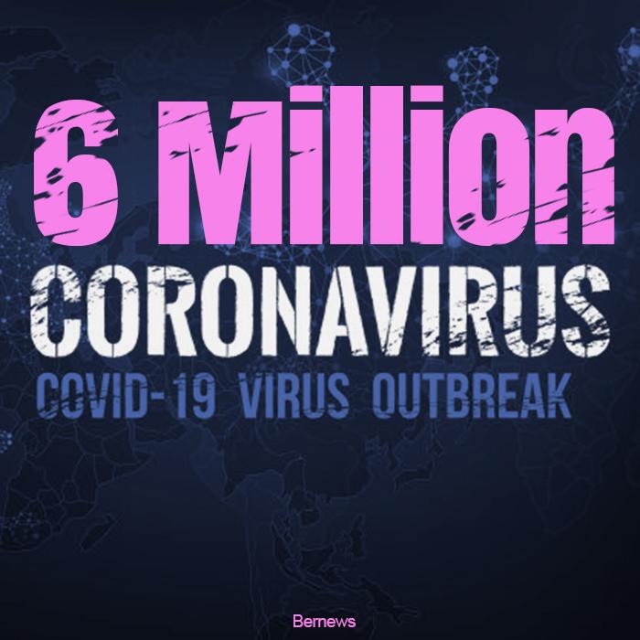 6 Million Coronavirus Covid-19 Outbreak