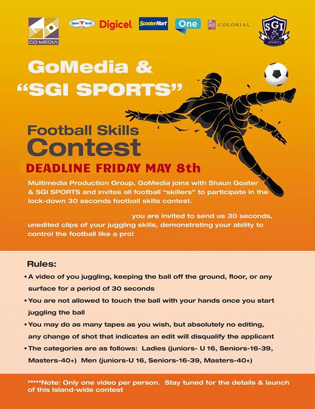 Football Skills Contest Bermuda May 2020