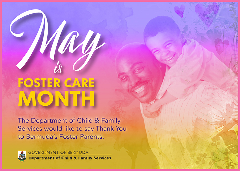 Foster Care Month Bermuda May 2020
