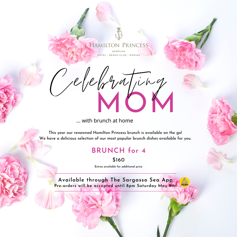 Hamilton Princess Mother's Day Brunch Bermuda May 2020 (1)