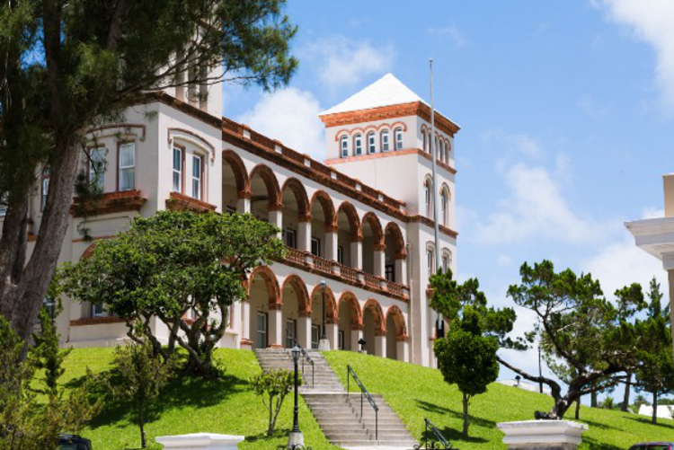 House of Parliament Bermuda May 14 2020