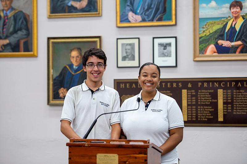 McKenzie-Kohl Tuckett & Noah Da Silva Bermuda May 2020