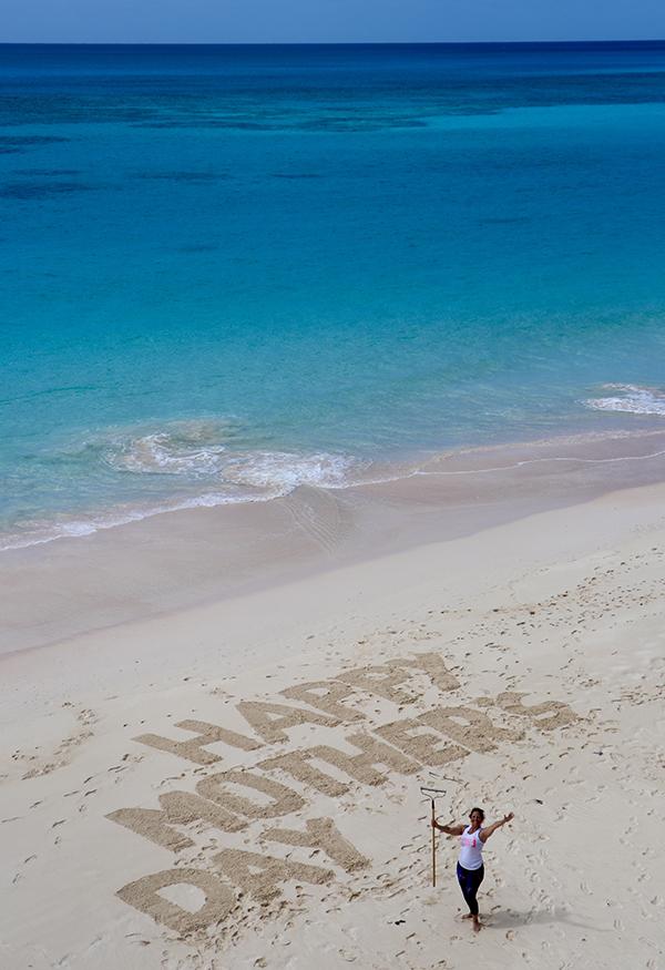 Mother's Day Beach Art Bermuda May 2020