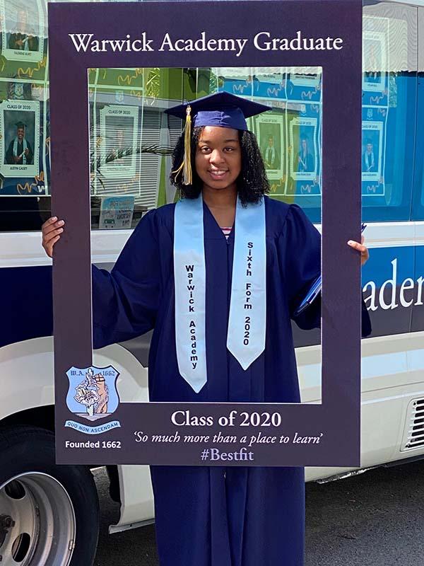 Warwick Academy Graduation Bermuda May 2020 (11)