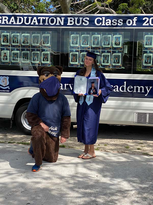 Warwick Academy Graduation Bermuda May 2020 (12)