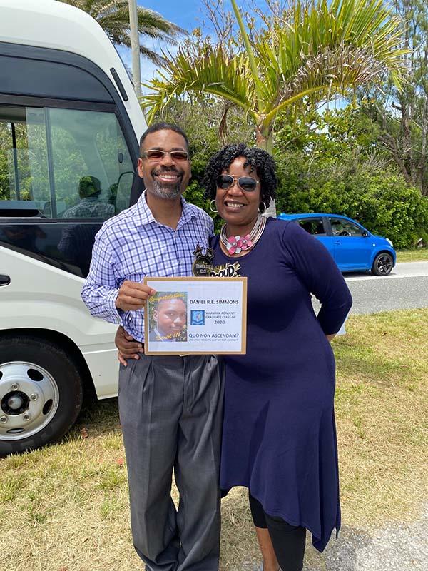 Warwick Academy Graduation Bermuda May 2020 (19)
