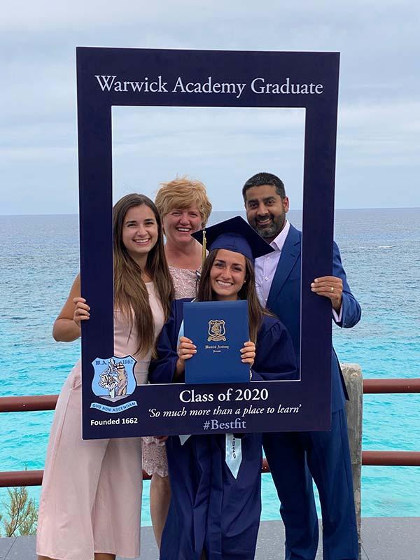 Warwick Academy Graduation Bermuda May 2020 (25)