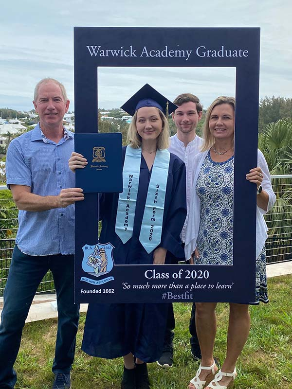 Warwick Academy Graduation Bermuda May 2020 (28)