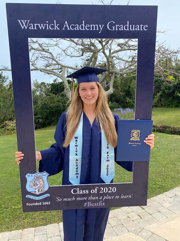 Warwick Academy Graduation Bermuda May 2020 (29)