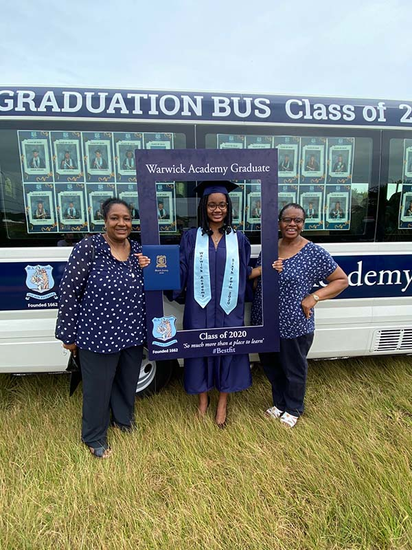 Warwick Academy Graduation Bermuda May 2020 (30)