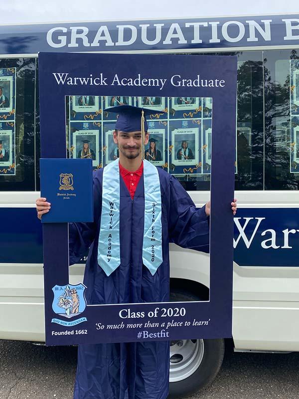 Warwick Academy Graduation Bermuda May 2020 (32)