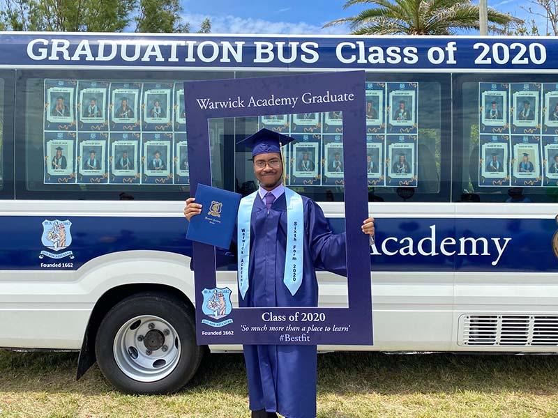 Warwick Academy Graduation Bermuda May 2020 (5)