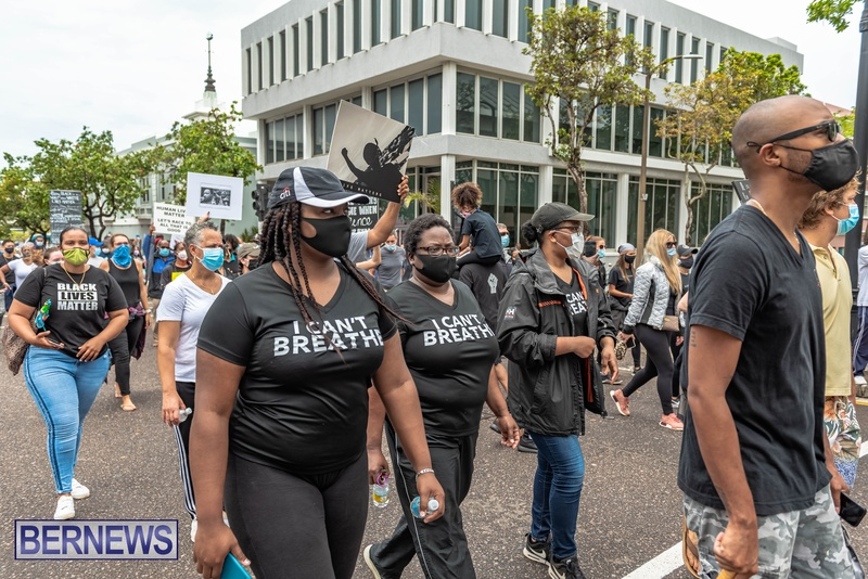 2020 BLM Black Lives Bermuda March June JS (16)