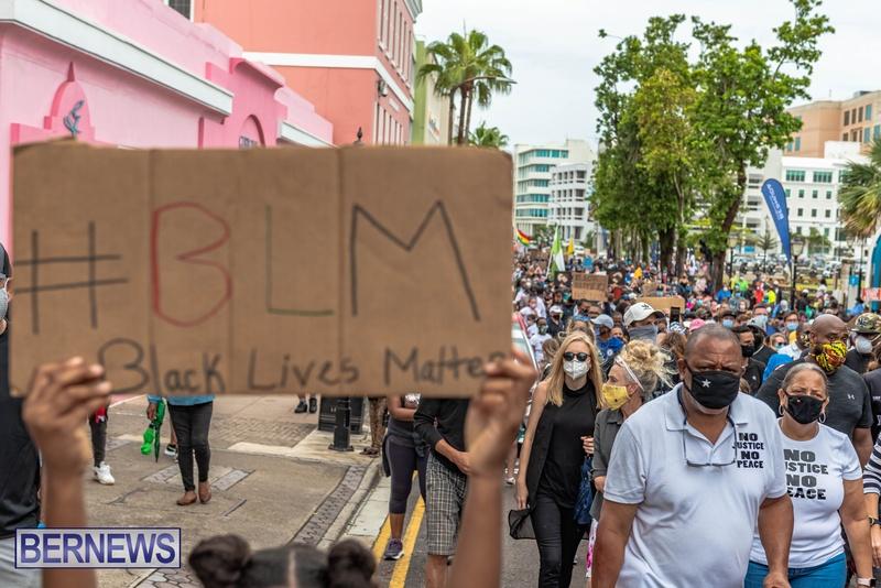 2020 BLM Black Lives Bermuda March June JS (19)