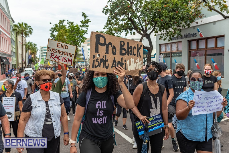 2020 BLM Black Lives Bermuda March June JS (21)
