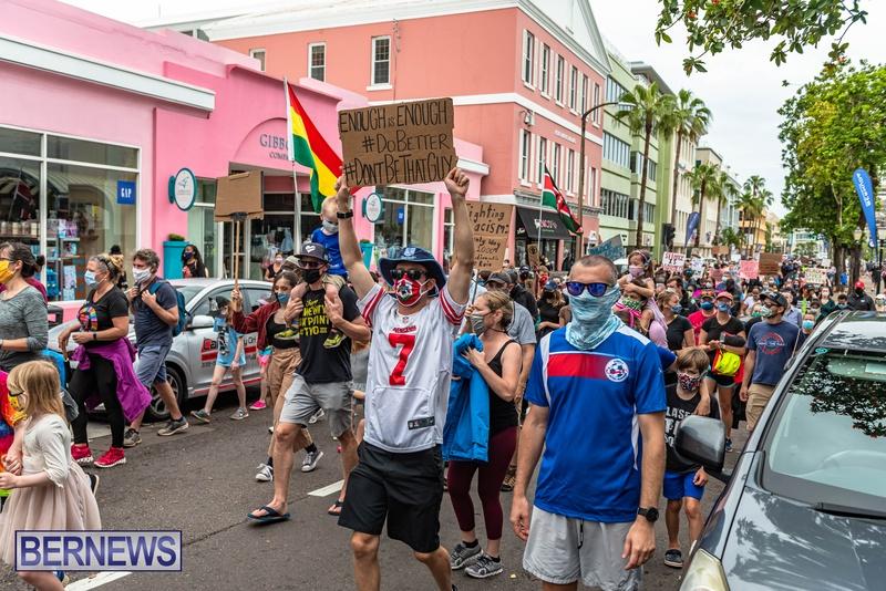 2020 BLM Black Lives Bermuda March June JS (28)