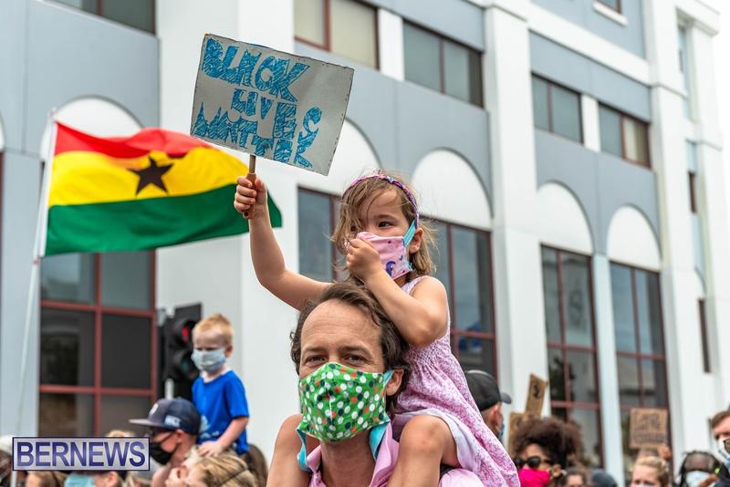2020 BLM Black Lives Bermuda March June JS (29)