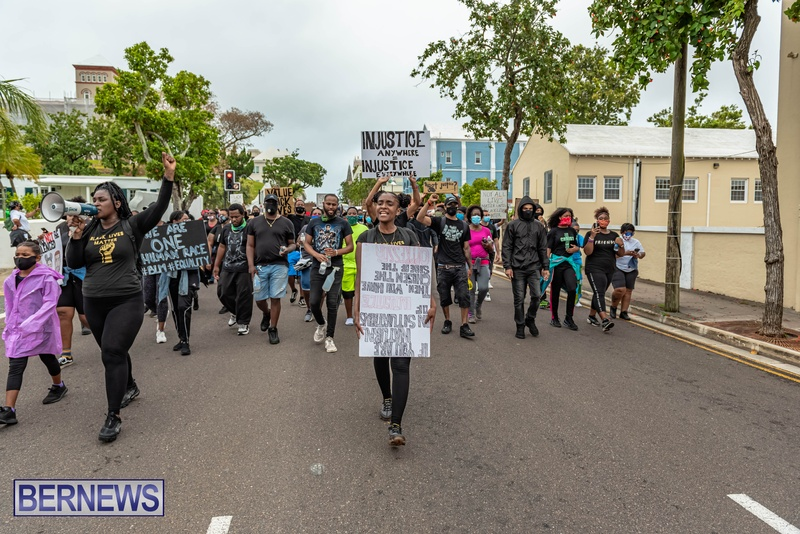 2020 BLM Black Lives Bermuda March June JS (32)