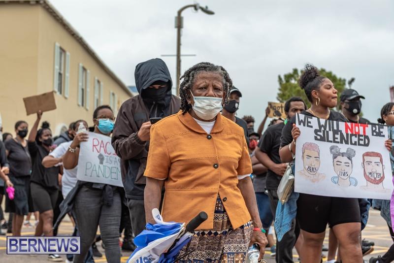 2020 BLM Black Lives Bermuda March June JS (34)