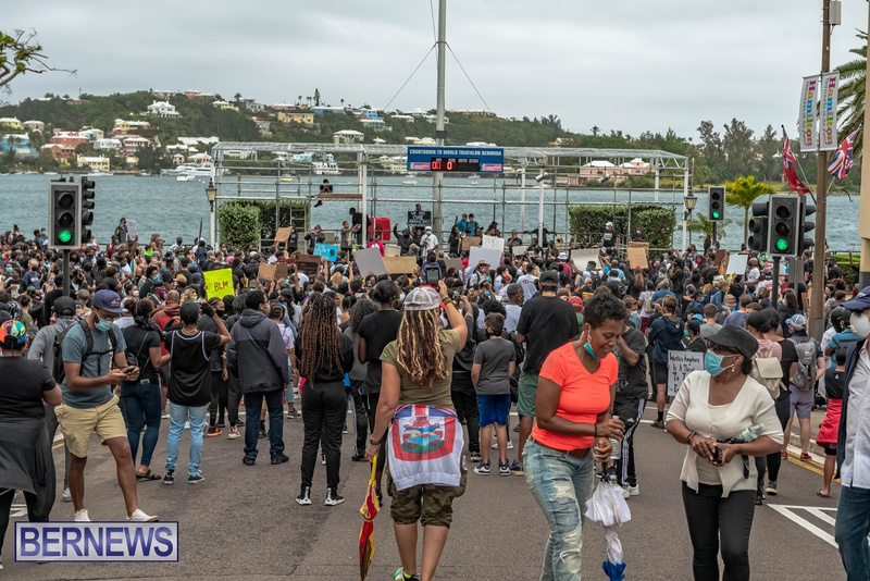 2020 BLM Black Lives Bermuda March June JS (35)