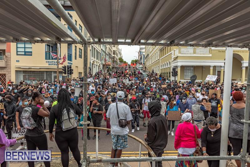 2020 BLM Black Lives Bermuda March June JS (36)