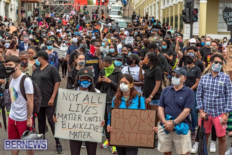 2020 BLM Black Lives Bermuda March June JS (37)