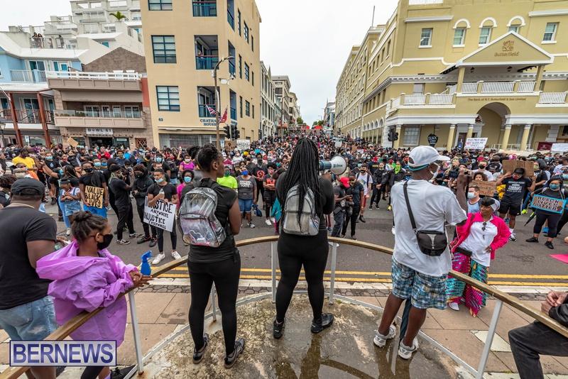 2020 BLM Black Lives Bermuda March June JS (38)