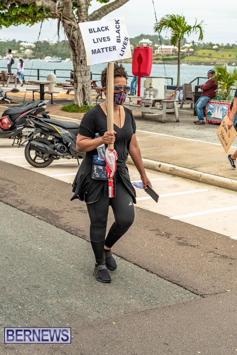 2020 BLM Black Lives Bermuda March June JS (39)
