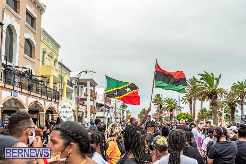 2020 BLM Black Lives Bermuda March June JS (40)