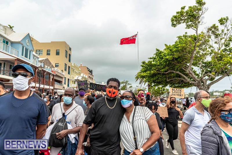 2020 BLM Black Lives Bermuda March June JS (43)