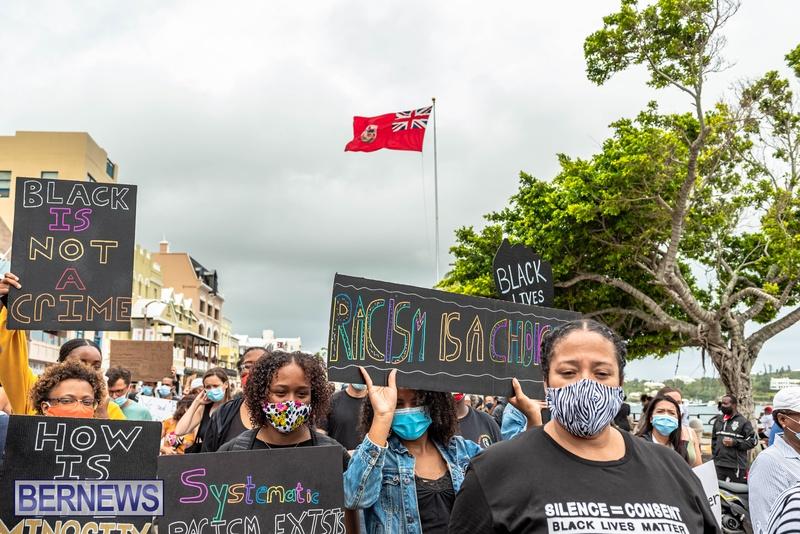 2020 BLM Black Lives Bermuda March June JS (44)