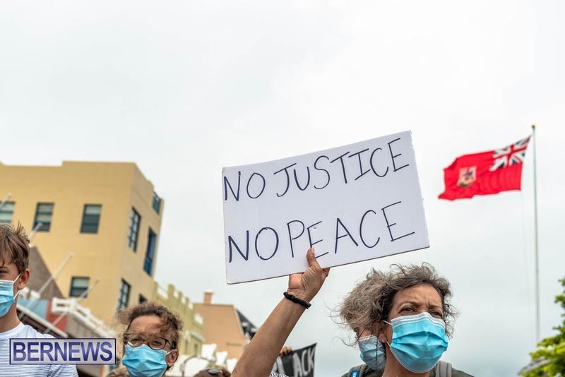 2020 BLM Black Lives Bermuda March June JS (45)
