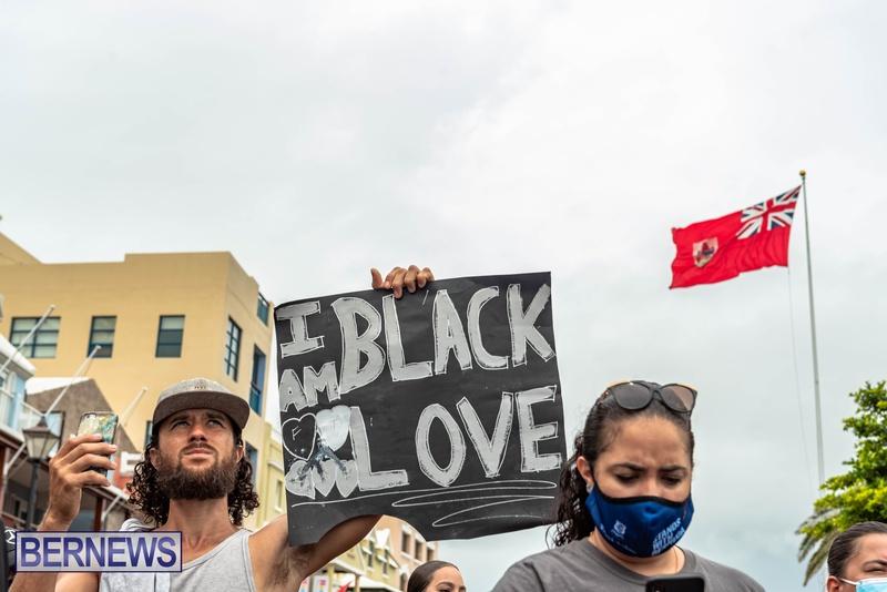 2020 BLM Black Lives Bermuda March June JS (46)