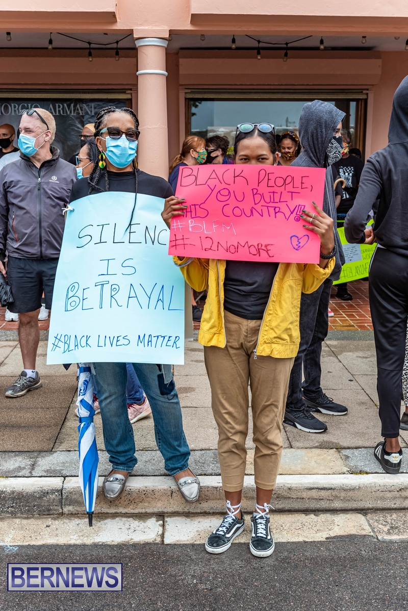 2020 BLM Black Lives Bermuda March June JS (53)
