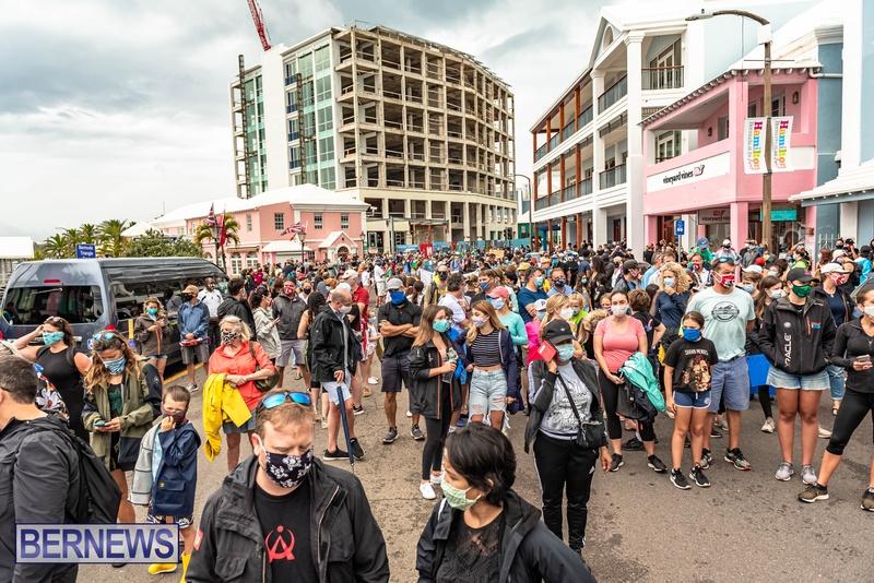 2020 BLM Black Lives Bermuda March June JS (64)