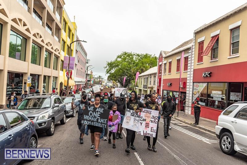 2020 BLM Black Lives Bermuda March June JS (66)