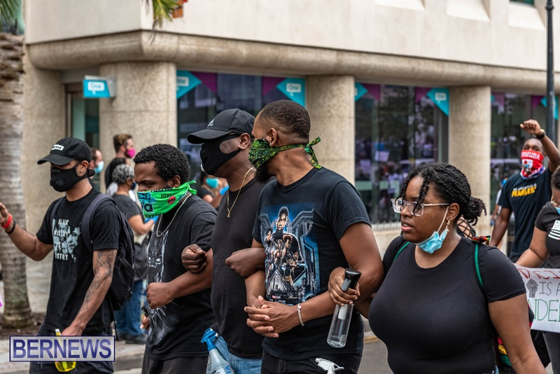 2020 BLM Black Lives Bermuda March June JS (69)