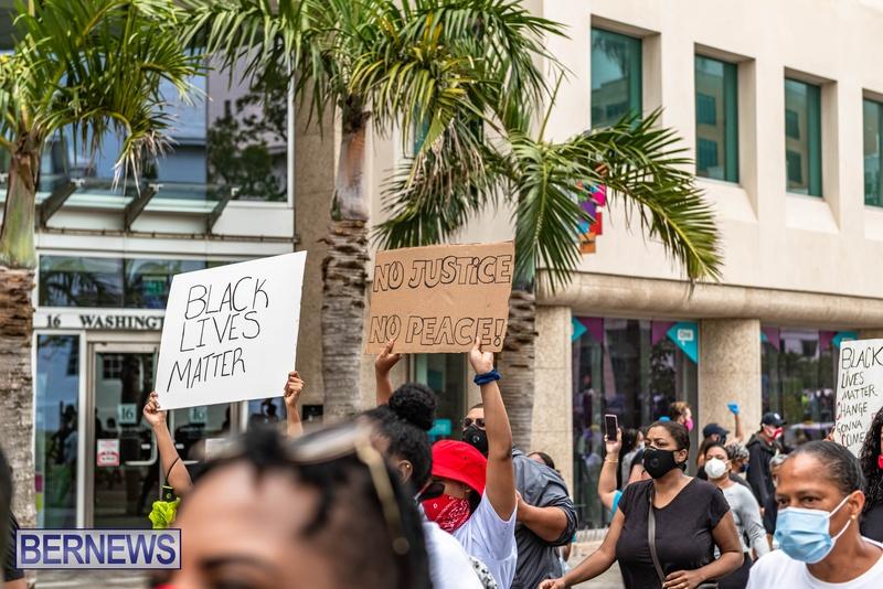 2020 BLM Black Lives Bermuda March June JS (70)