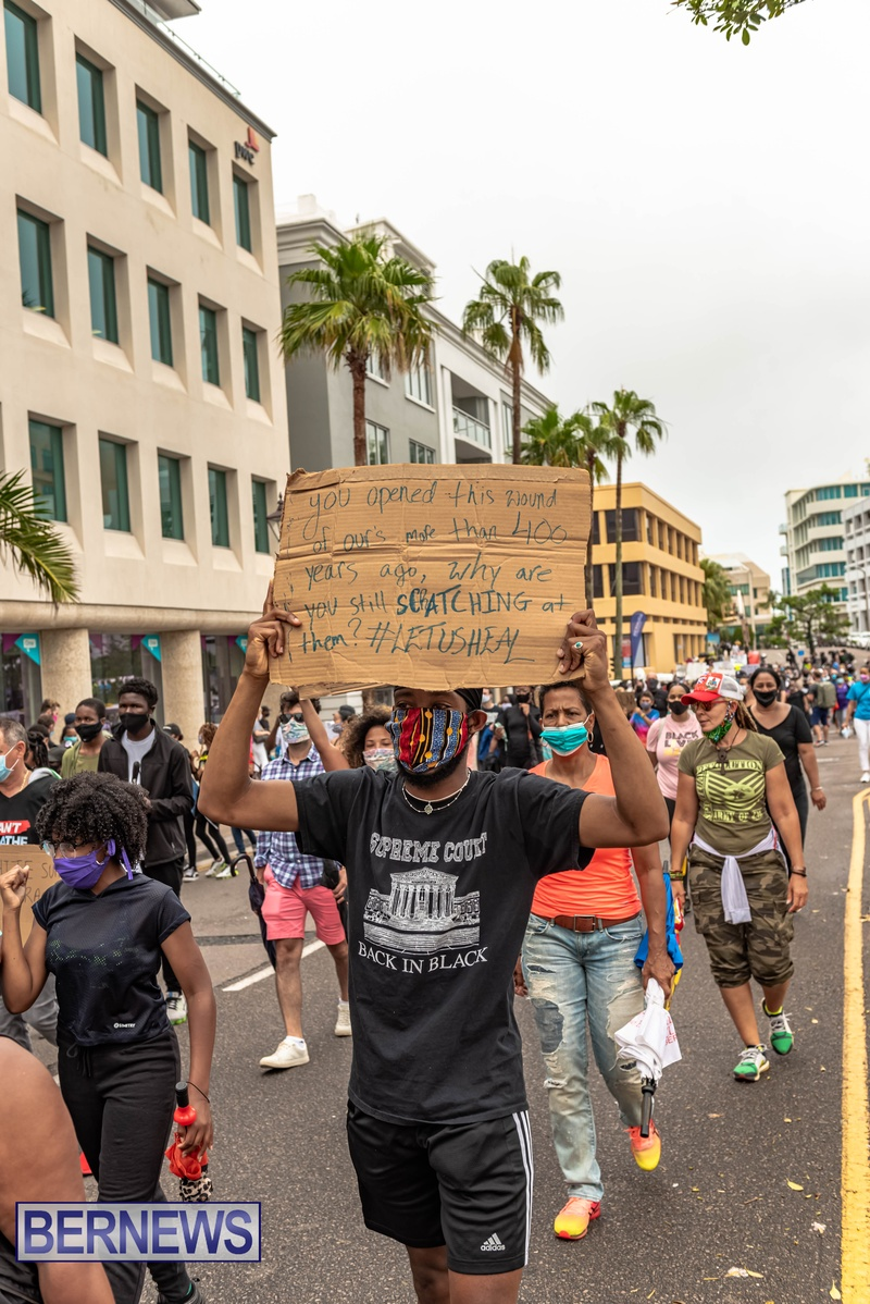2020 BLM Black Lives Bermuda March June JS (71)