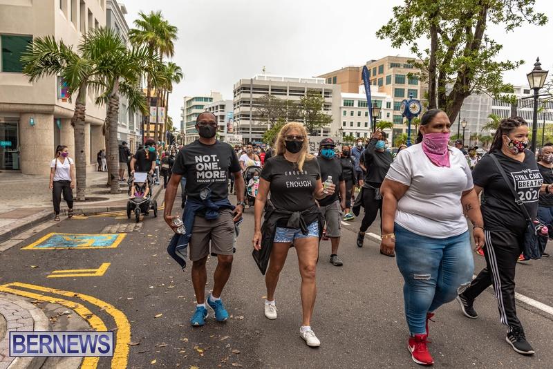 2020 BLM Black Lives Bermuda March June JS (72)