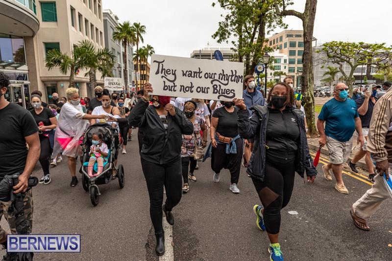 2020 BLM Black Lives Bermuda March June JS (73)