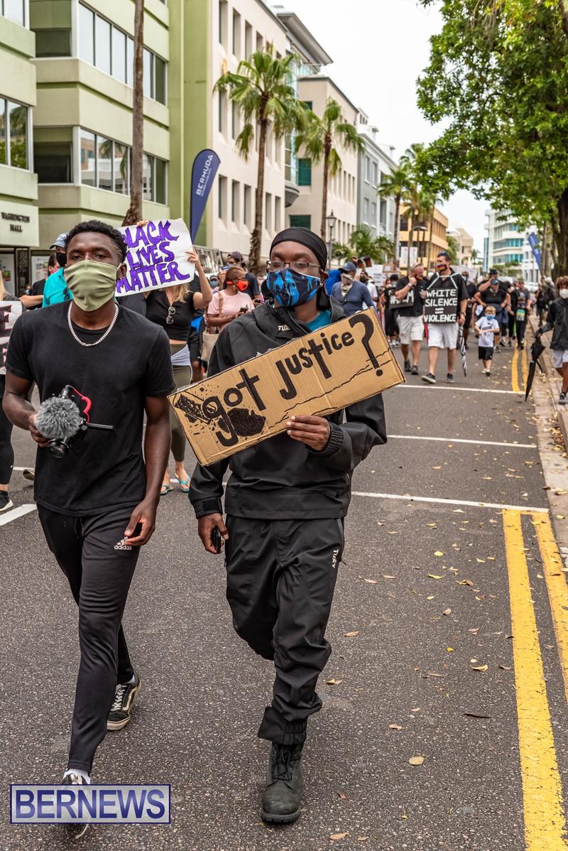 2020 BLM Black Lives Bermuda March June JS (77)