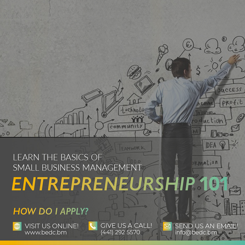 BEDC 'Entrepreneurship 101′ Bermuda June 2020