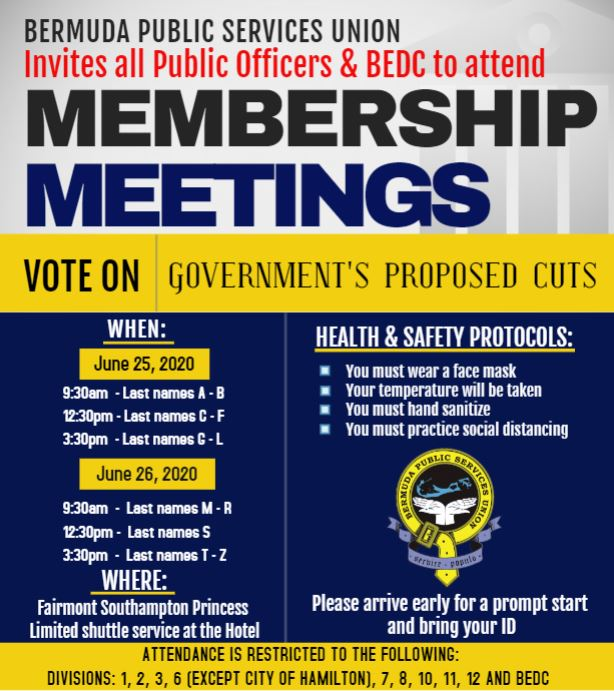 BPSU Membership Meeting On Govt Proposal