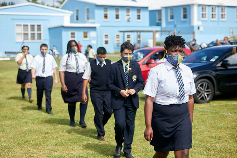 Clearwater Middle School Leaving Ceremony Bermuda June 2020 (2)