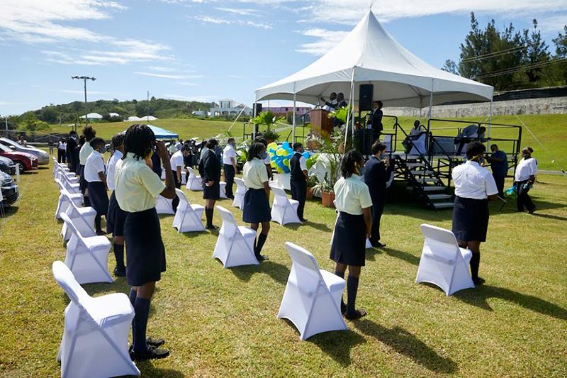 Clearwater Middle School Leaving Ceremony Bermuda June 2020 (6)
