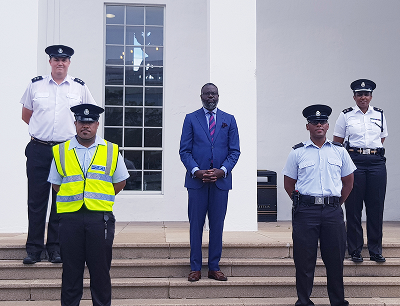 Designated City Constable Assigned To Hamilton Bermuda June 2020 (1)