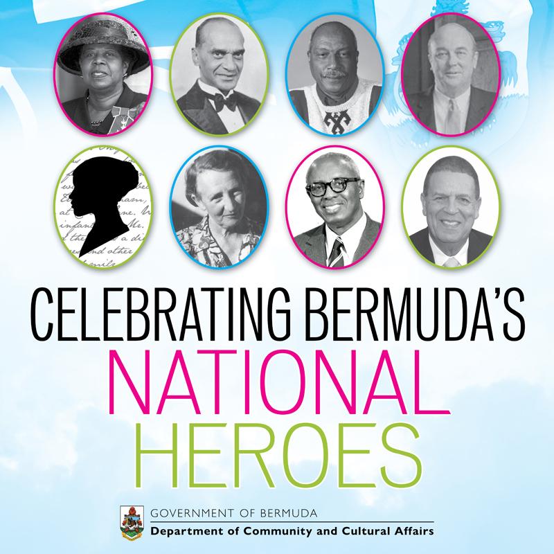 National Heroes Bermuda June 2020