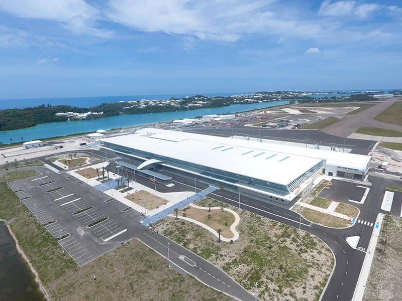 New Passenger Terminal Building Bermuda June 2020